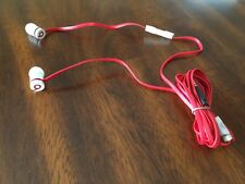 Beats by Dr. Dre urBeats In-Ear Only Headphones - White/Red GENUINE AUTHENTIC