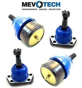 For Chevrolet Nova GMC Sprint Front Lower Upper Ball Joints Kit Mevotech