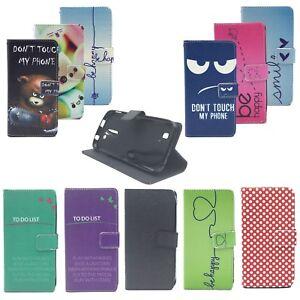 Premium Protective Case Mobile Wallet Flip Cover bowl Bumper faux leather New