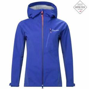 Berghaus Taboche Womens Windproof Waterproof Softshell Full Zip Jacket Purple