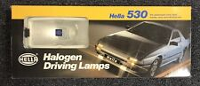 HELLA 530 HALOGEN DRIVING LAMPS 73702 WHITE LIGHT NEW OLD STOCK