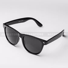 NEW Fashion Women Style Sunglasses Shades Glossy Black Frame with Dark Lens