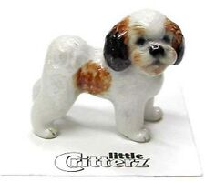 ➸ LITTLE CRITTERZ Dog Miniature Figurine Shih Tzu Sultan