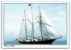 Postcard Sailing Ship Malcolm Miller