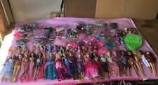 Huge Barbie Lot Dolls Clothes & Accessories Too Much Too List EUC