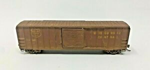 MICRO TRAINS 025 00 680 N SCALE WEATHERED WISCONSIN CENTRAL 50' BOXCAR 25324