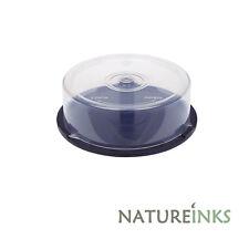 NEW 25 cakebox storage capacity CD DVD Bluray empty Spindle Tub Cake Box Case
