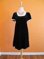 Behnaz Sarafpour for Target Size 3 Black Velvet Cap Sleeve Baby Doll Dress