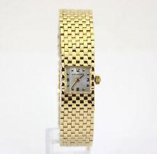 Vintage Van Cleef  Arpels Longines watch 14K yellow gold mesh 31.1GM 14 x 20.7MM