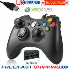 USB Console Wired Gamepad Controller Joypad For Microsoft XBOX 360 Windows 10 PC