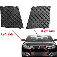 For BMW E60 E61 M Sport Car Front left Bumper Cover Lower Mesh Grille Grill Trim