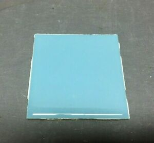 ONE Antique Ceramic Baby Blue American Tile 4x4 More Available VTG Old 1110-20B