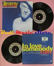 LP 45 7'' JIMMY SOMERVILLE To love somebody Rain 1990 LONDON no cd mc dvd *
