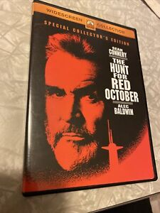 The Hunt for Red October Special collector's Edition DVD Widescreen Sean Connery