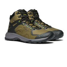 Keen Mens Explore Mid Waterproof Walking Boots - Green Sports Outdoors