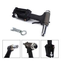 """1/4""""Air Rivet Gun Industrial Grade Pneumatic Rivet Tool 3/16"""" 5/32""""Nose"""