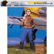 Andrea Miniatures SW02 German Ace II Marseille 1/48 scale metal model Figure
