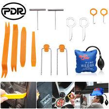 Car Audio Panel Removal Pry Tools Radio Dash Door Trim Mold Tool+Air Pump Wedge