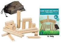 Kubb Spiel Holz Outdoor Wurfspiel  Schach Bauernkegeln Rasen Gartenspiel