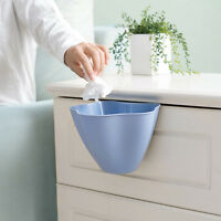 Home Cabinet Door Hanging Trash Garbage Bin Can Rubbish Container Case SH