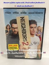 NEIGHBORS 2: SORORITY RISING 2016 DVD Brand New (BEWARE OF CHEAP FAKES SOLD!!)