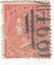 British Postage Used 4 Pence Stamp