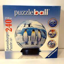 Ravensburger Puzzle: Puzzleball Penguins [240 Pieces] 15 cm / 6 inch  # 110063