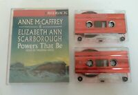 AUDIO BOOK CASSETTE - Anne McCaffrey Powers That Be Ready By Marina Sirtis 1993