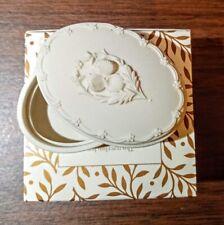 "Margaret Furlong ""Love Grows by Giving"" Oval Porcelain Box Lid 3� 1999~ Nib"
