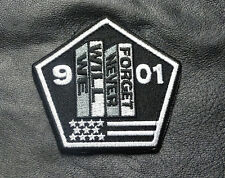 9/11 Never Forget TWIN TOWERS TACTICVAL MORALE HOOK LOOP PATCH