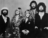 Fleetwood Mac B/W 8x10 Glossy Photo