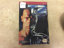 Terminator 2: Judgment Day T-800 Video Game Figure NECA Reel Toys Shelf Wear!