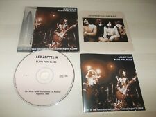 LED ZEPPELIN,  Plays Pure Blues - Live Int'l Festival, Texas, 1969  ... rare CD