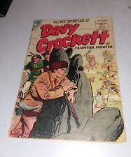 Davy Crockett #4 Charlton comics 1955 Golden Age Western classic key issue rare