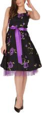 Rockabilly Special Occasion Halter Neck Dresses for Women
