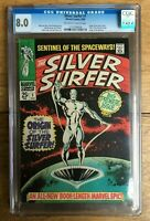 Silver Surfer #1 Origin of The SIlver Surfer 1968 CGC 8.0 1131938004