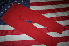 "American Eagle ""slim khaki"" Orange Pants Size 30: slacks/trousers/western #3477"