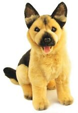 German Shepherd/Alsatian Plush Stuffed Toy Dog 30cm Sargeant by Bocchetta