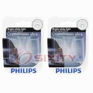2 pc Philips Parking Light Bulbs for Mitsubishi i-MiEV L200 Lancer Mirage ru