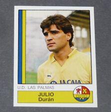 175 JULIO DURAN UD LAS PALMAS PANINI LIGA FUTBOL 87 ESPAÑA 1986-1987 FOOTBALL