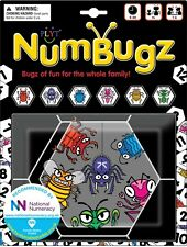 NumBugz - 7 New & Different Fun Family Games to Play Inside a Bugz Travel Bag