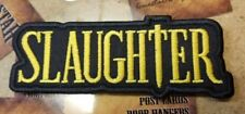 Slaughter patch