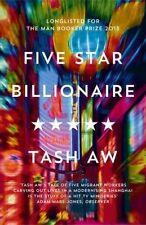 Five Star Billionaire, Aw, Tash, New Book