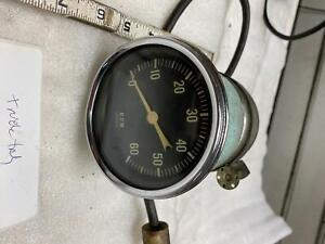 Vintage 6000 Rpm Tach Jeep Truck Hot Rod 12v 760zx 60's Muscle car Chevy gmc?