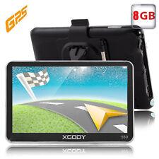 """XGODY 5"""" TRUCK CAR Lorry Coach HGV GPS SAT NAV NAVIGATION 8GB All US FREE MAP"""