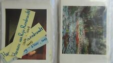 """VTG Pomegranate Publs 10 Matching Pairs of Art Cards 5"""" X 7"""" Learning Activity"""