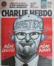 CHARLIE HEBDO N° 1459 de Juillet 2020 MINISTRE CASTEX MÊME LOGICIEL MÊME BORDEL