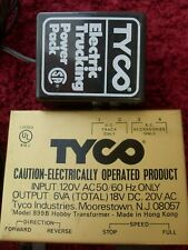 Tyco Train and Truck Power supply and transformer, lot of 2, untested