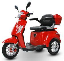 ECO ENGEL 500 Rot, 20 km/h, Seniorenmobil, Elektromobil, E Trike, Elektroroller