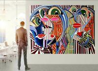 Malerei Acryl kunst original signiert Kunstwerk Gemälde Bild ARTISTSQUARE Modern